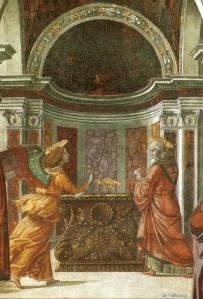 www-St-Takla-org--Domenico-Ghirlandaio-Annuncio-dell-Angelo-a-Aaccaria-02-details